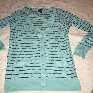 Blue Light Weight Cardigan